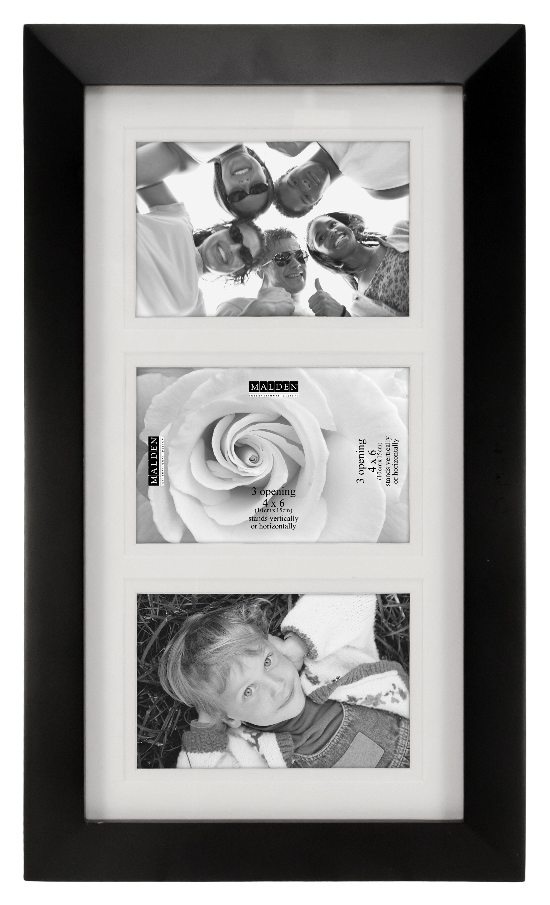 Andover Mills Kirschner 3-Opening Picture Frame & Reviews   Wayfair
