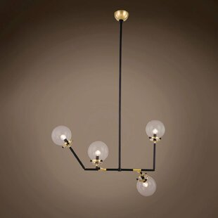 Brayden Studio Chairez 4-Light Chandelier