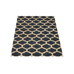 Wiedman Hand-Knotted Wool Blue/White Area Rug by Breakwater Bay