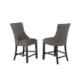 Prescod Tufted Linen Upholstered Parsons Chair (Set of 2) by Red Barrel Studio®