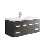 Pete 48 Wall Mount Single Bathroom Vanity Set by Orren Ellis
