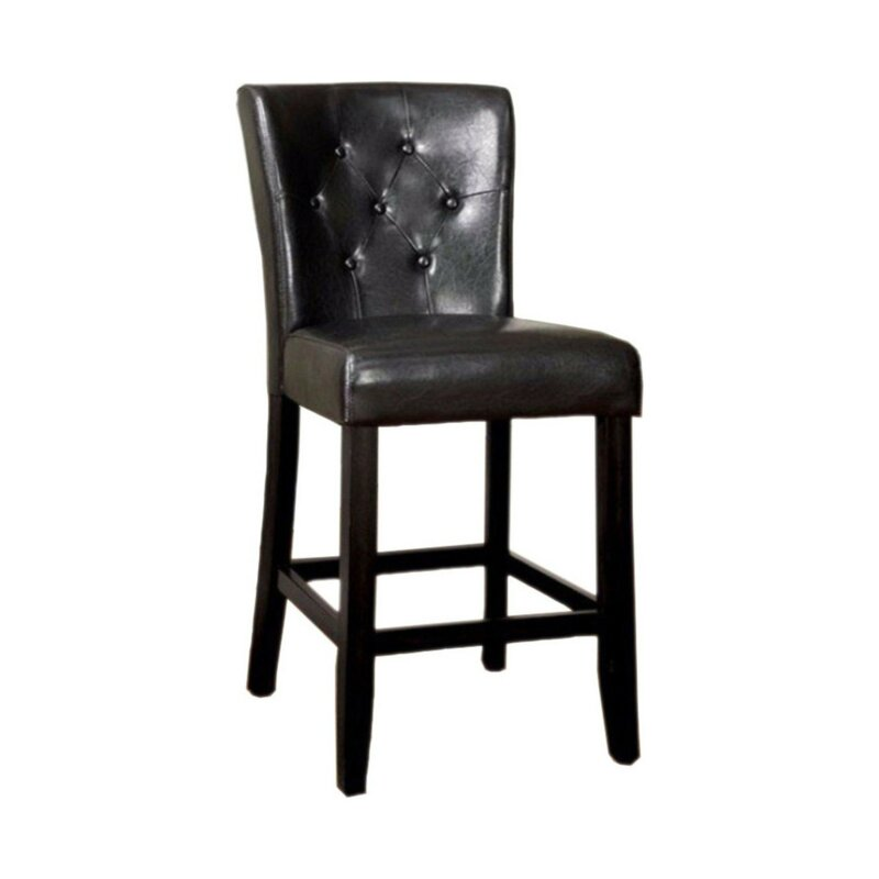 Anusha Contemporary Leather Upholstered Dining Chair