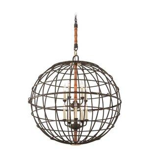 Breakwater Bay Villareal 10-Light Globe C..