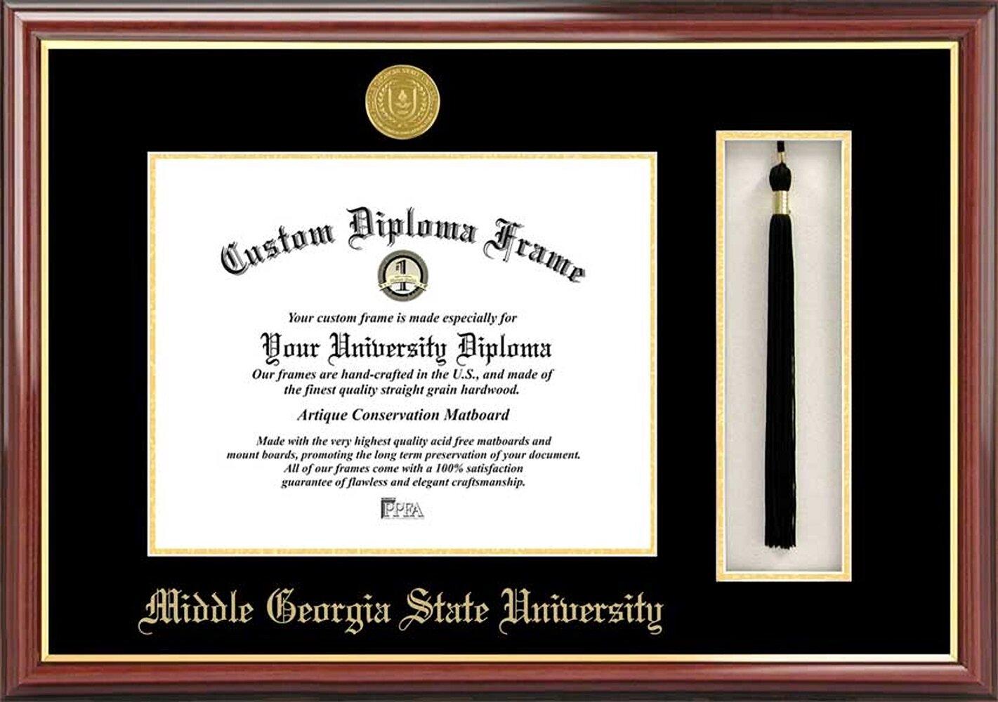 Diploma Frame Deals Middle Georgia State University Petite Tassel Diploma Picture Frame Wayfair