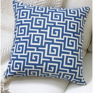 Greek Key Outdoor Pillow Cover Set Of 2