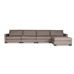 Secrest Plush Deep Modular Sectional with Ottoman