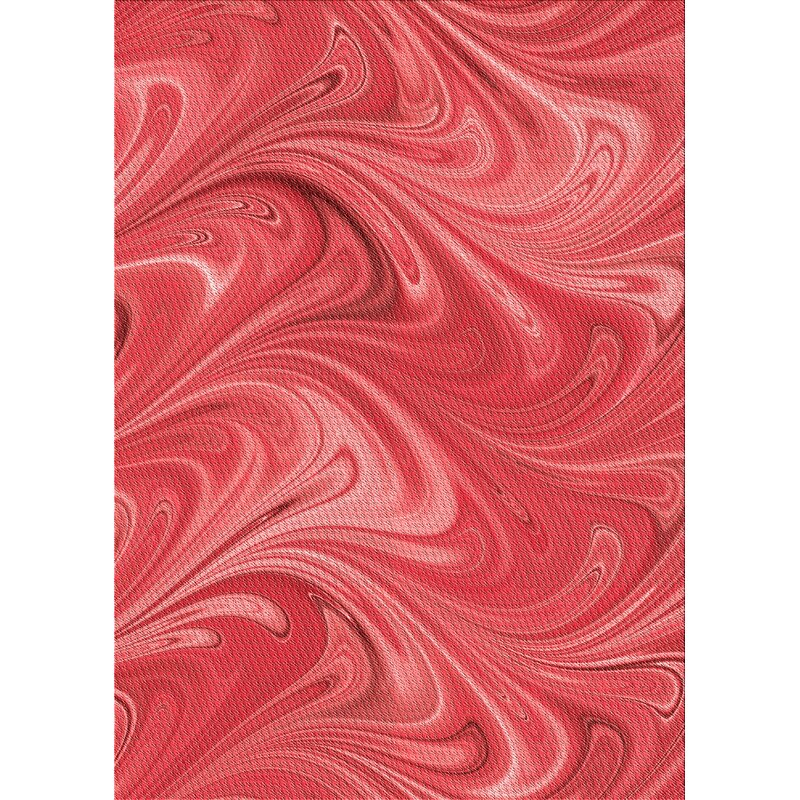 East Urban Home Fierro Abstract Wool Red Area Rug Wayfair