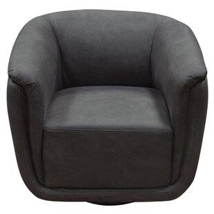 Diamond Sofa Logan Swivel Accent Barrel Chair