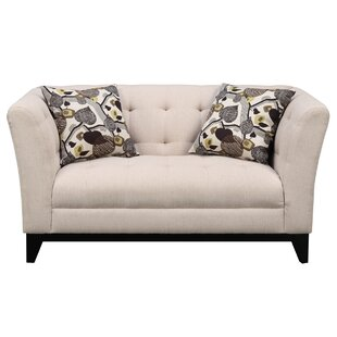 Shop Woolfolk Chesterfield Loveseat by Red Barrel Studio