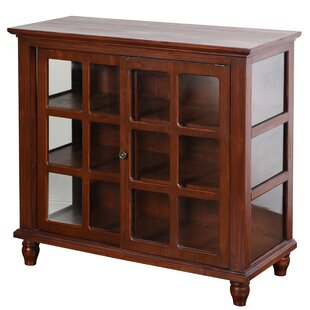 Archer Sliding 2 Door Accent Cabinet by August Grove