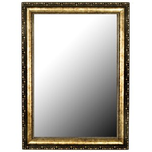 Affordable Roman Beaded Silver Gold Wall Mirror By Hitchcock Butterfield Company