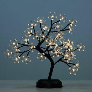 Lightshare LED 36 Light Crystal Flower LED Bonsai Tree