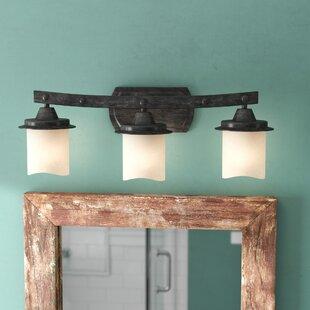 Laurel Foundry Modern Farmhouse Leonie 3-Light Vanity Light