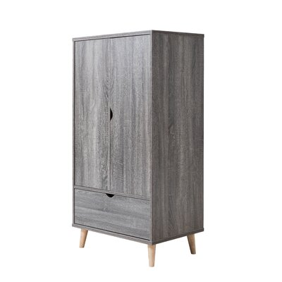 Trule Teen Bowie Armoire Color: Distressed Gray