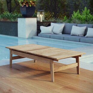 Edmeston Outdoor Teak Coffee Table