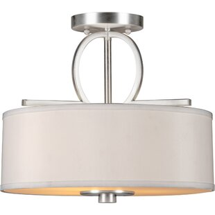 Bradninch 3-Light Semi-Flush Mount by House of Hampton