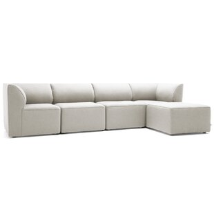 Big Joe Lux 5 Piece Sectional Set