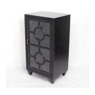 Heather Ann Creations Wooden Accent Cabinet with 1 Door