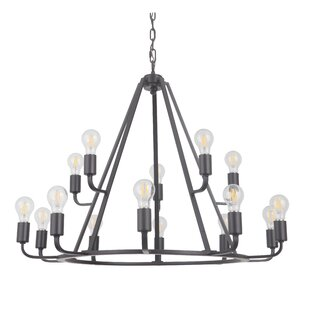 17 Stories Lysia 15-Light Chandelier