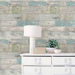 Farmhouse Rustic Self Adhesive Wallpaper Birch Lane