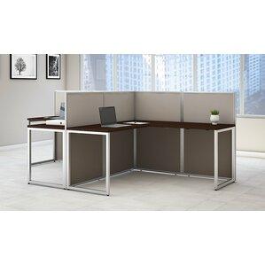 l desk office. easy office 2 piece lshape desk suite l