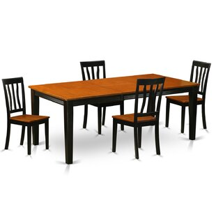 Loraine 5 Piece Dining Set by Red Barrel ..
