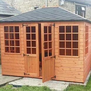 Mayflower 8 X 10 Ft. Shiplap Summer House By Tiger Sheds