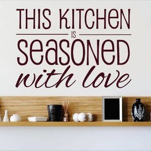 This Kitchen Is Seasoned With Love Wall Decal