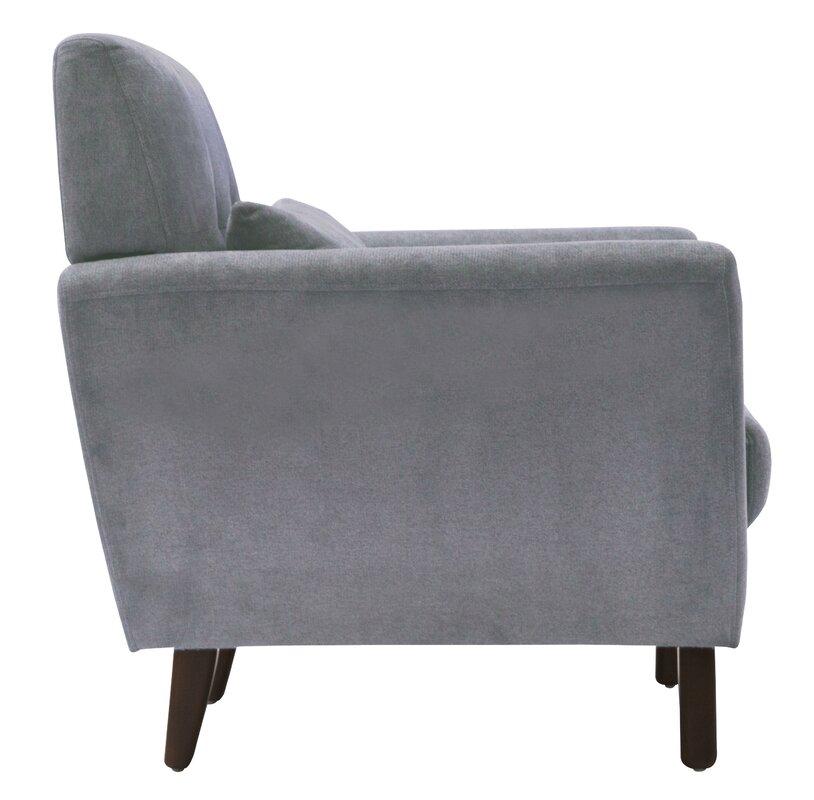 Superior Amelie Mid Century Modern Armchair