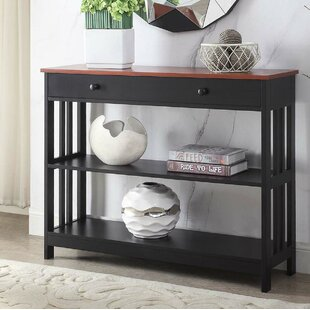 Mission 39.5 Console Table by Convenience Concepts