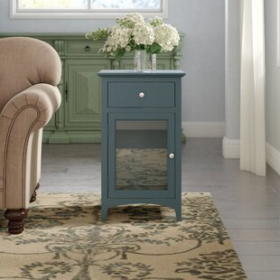 Tussilage End Table with Storage by Lark Manor