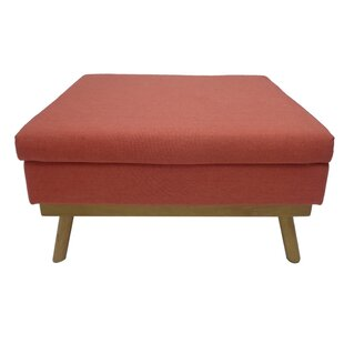 Overbay Mid Century Ottoman by George Oliver