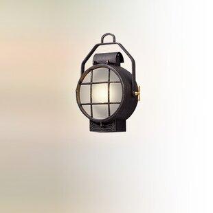 Faulkner 1-Light Outdoor Flush Mount by L..