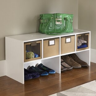 Read Reviews 1-Tier and 4-Compartment Stackable Shoe Rack By ClosetMaid