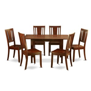 Phoenixville 7 Piece Dining Set by Three Posts