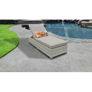 Fairmont Reclining Chaise Lounge with Cushion