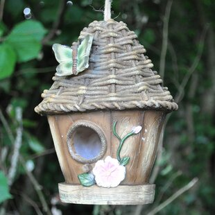Wicker Roof Hanging Bird House By Sol 72 Outdoor
