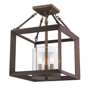 Thorne 3-Light Semi Flush Mount by Three Posts
