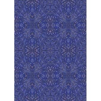 East Urban Home Nilofar Wool Sea Blue Area Rug Wayfair