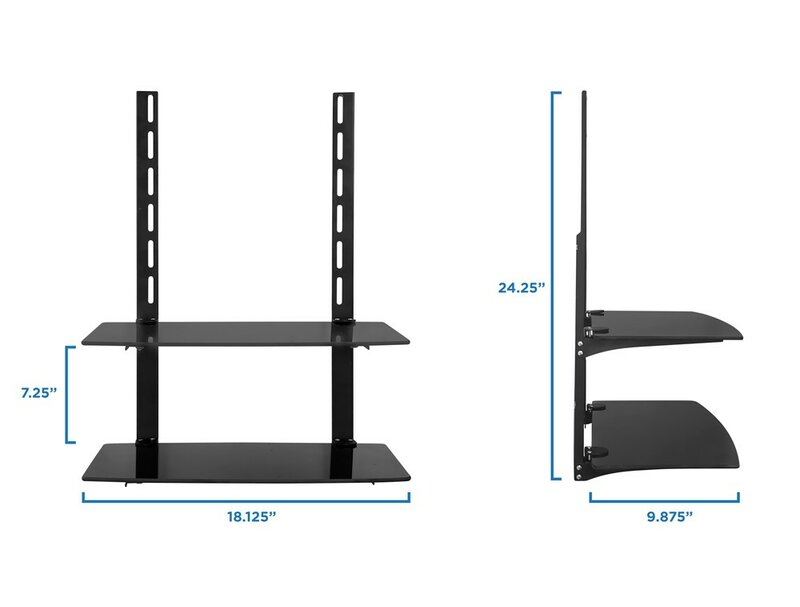 Mount it TV Wall Mount Bracket for Cable Box & Reviews   Wayfair