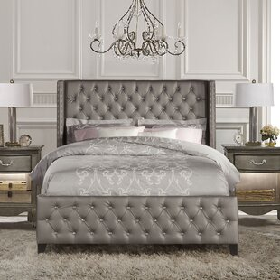 House of Hampton Ripley Upholstered Panel Bed