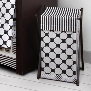 Bargain Bair Dots/Pin Laundry Hamper By Harriet Bee