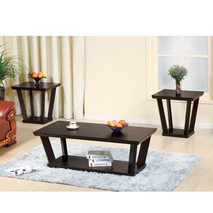 Abdelaziz 3 Piece Coffee Table Set by Red Barrel Studio