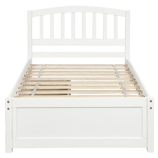 Gatliff Twin Solid Wood Storage Platform Bed