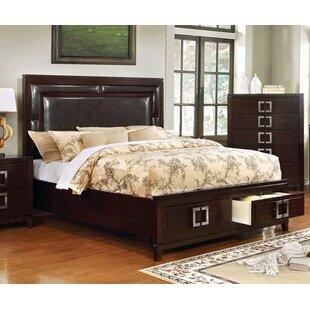 Latitude Run Lamontagne Upholstered Storage Platform Bed