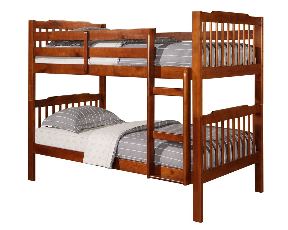 Washington twin over full bunk bed with trundle amp reviews wayfair - Default_name