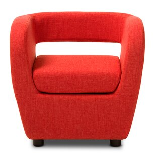 Baxton Studio Ramon Barrel Chair by Wholesale Interiors