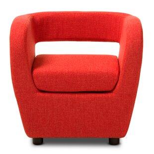 Utley Barrel Chair by Orren Ellis