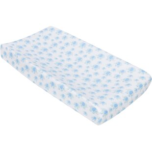 Elephants Changing Pad Cover by Miracle Blanket