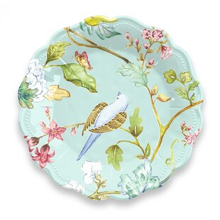 Spring Chinoi 23cm Melamine Salad Plate (Set Of 4) By Tar Hong